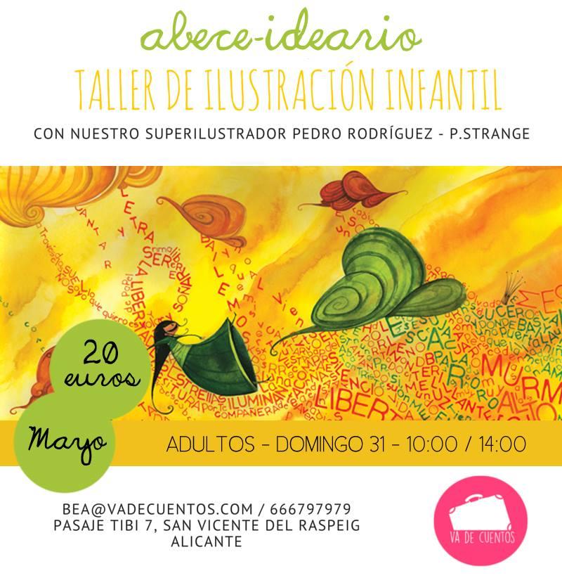 Taller de Ilustración Infantil para Adultos en Alicante