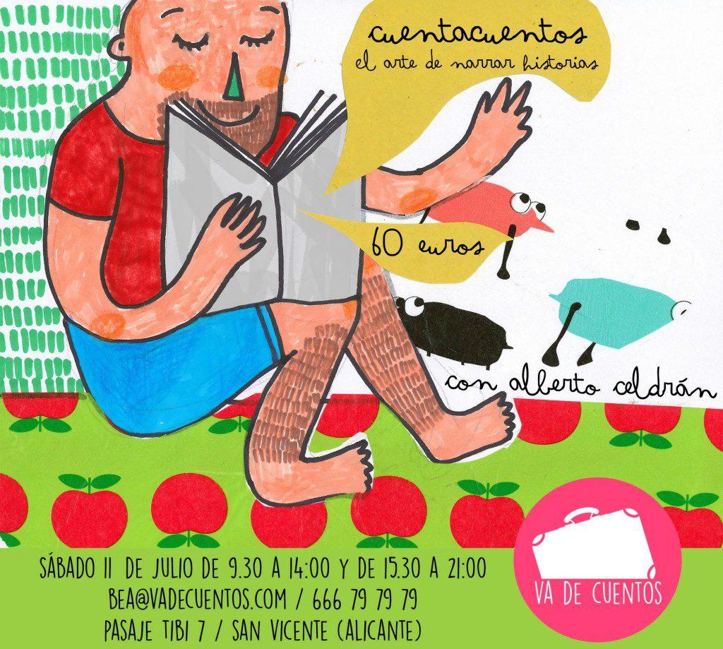 Curso de Cuentacuentos Alberto Celdrán Alicante