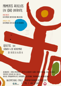 Curso de PRIMEROS AUXILIOS EN ETAPA INFANTIL