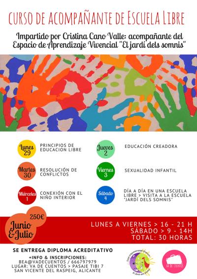 Curso Educación Libre en Alicante