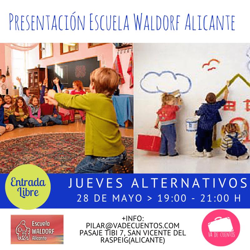 Presentación Escuela Waldorf Alicante