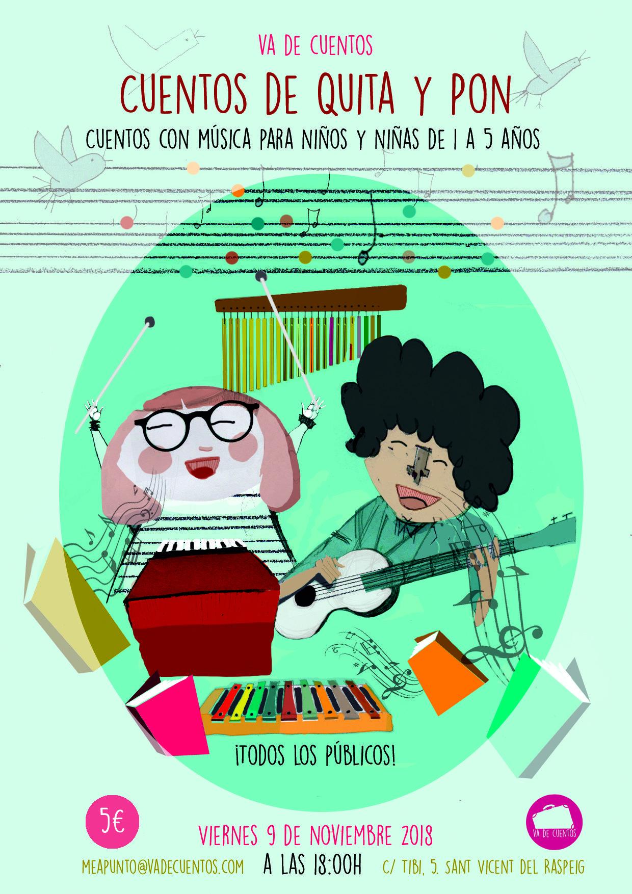 cuentacuentos musical