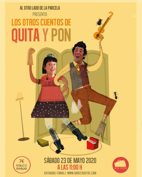 """Cuentacuentos musical """"Quita y Pon"""""""