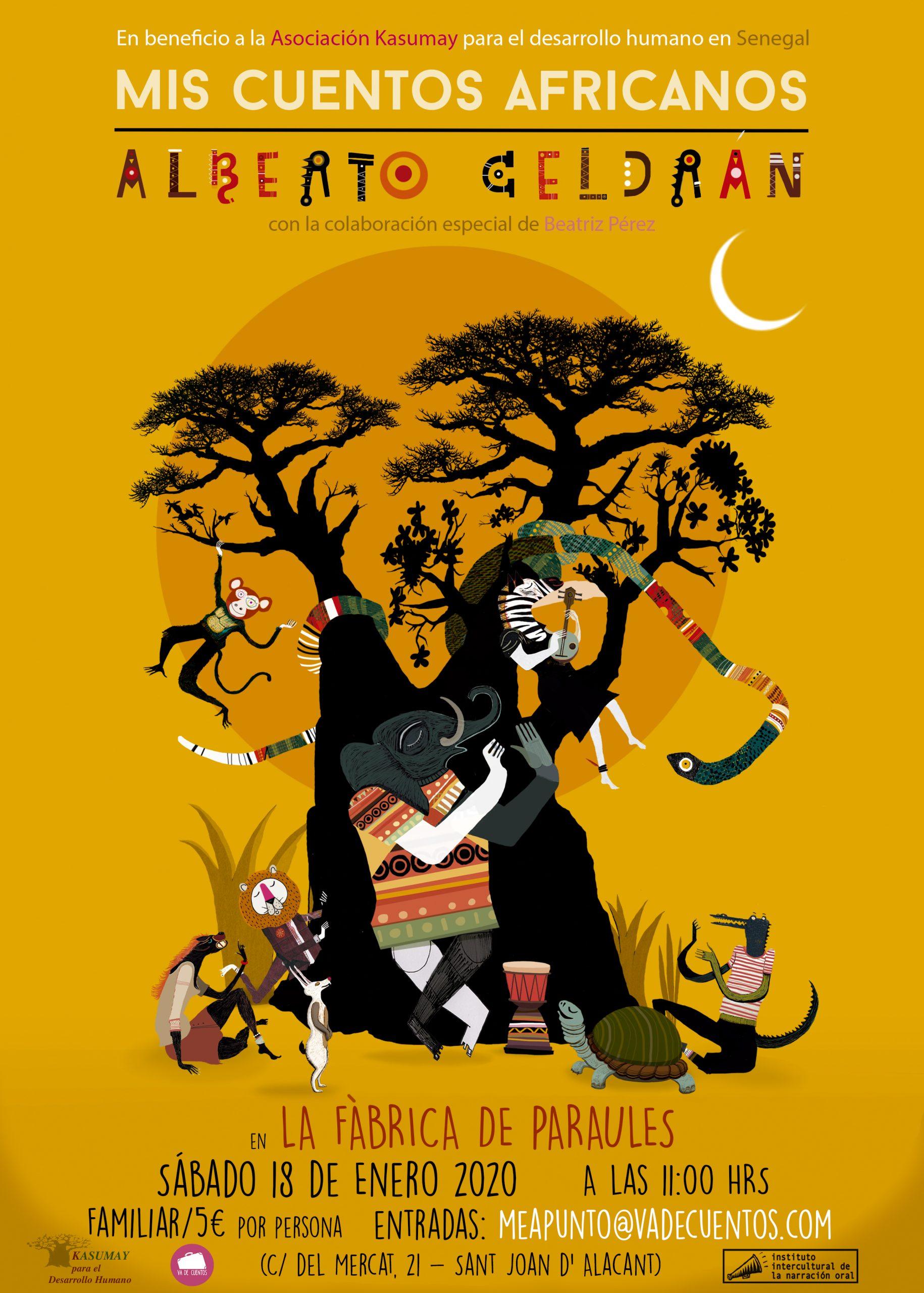 cuentos africanos con alberto celdrán