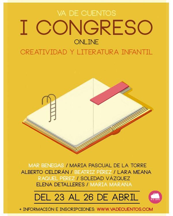 congreso online creatiividad y literatura infantil va de cuentos