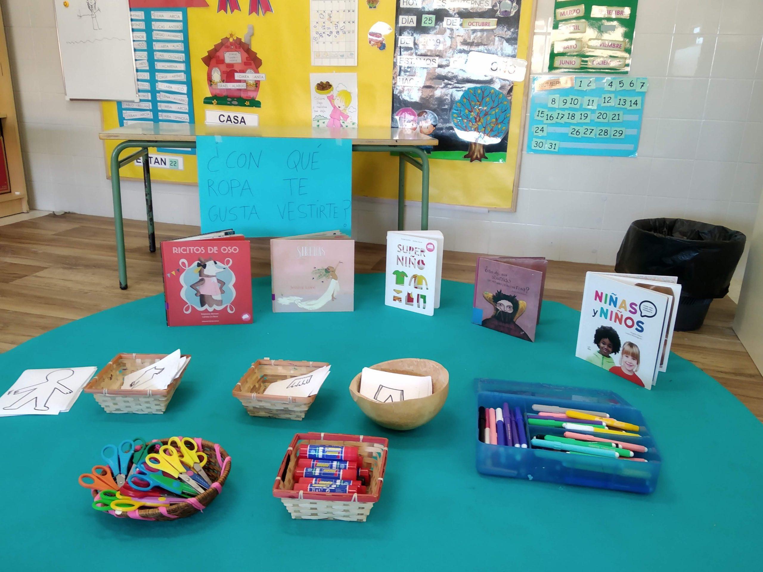 laboratorios para niños con cuentos