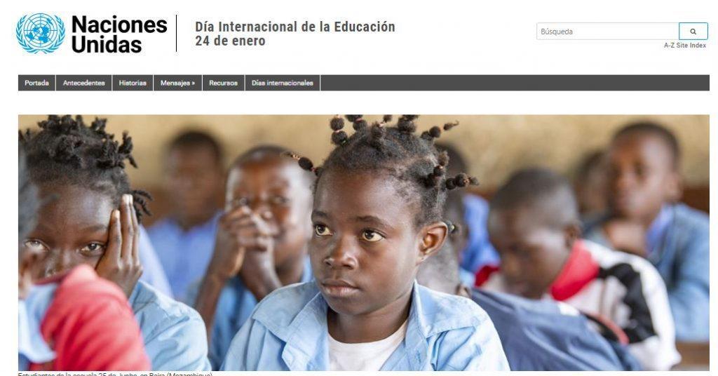 dia de la educación 2021 ONU