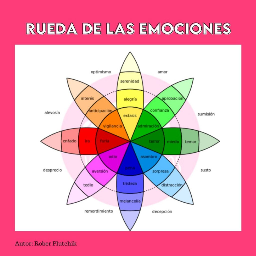 QUÉ SON LAS EMOCIONES rueda de las emociones